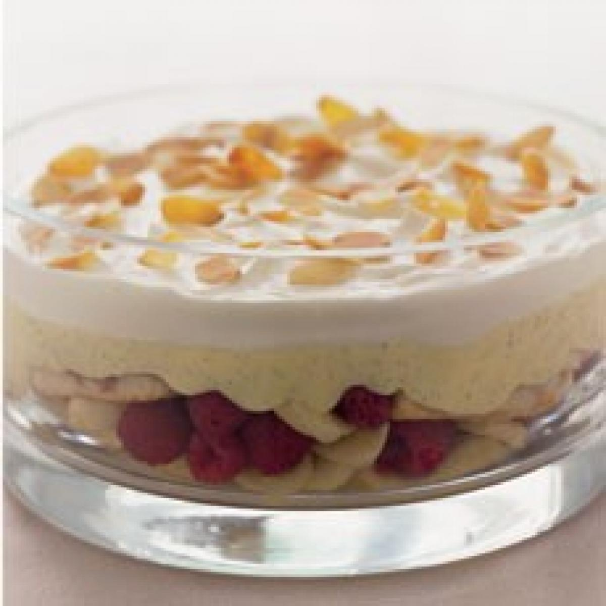A picture of Delia's Traditional Raspberry Trifle recipe