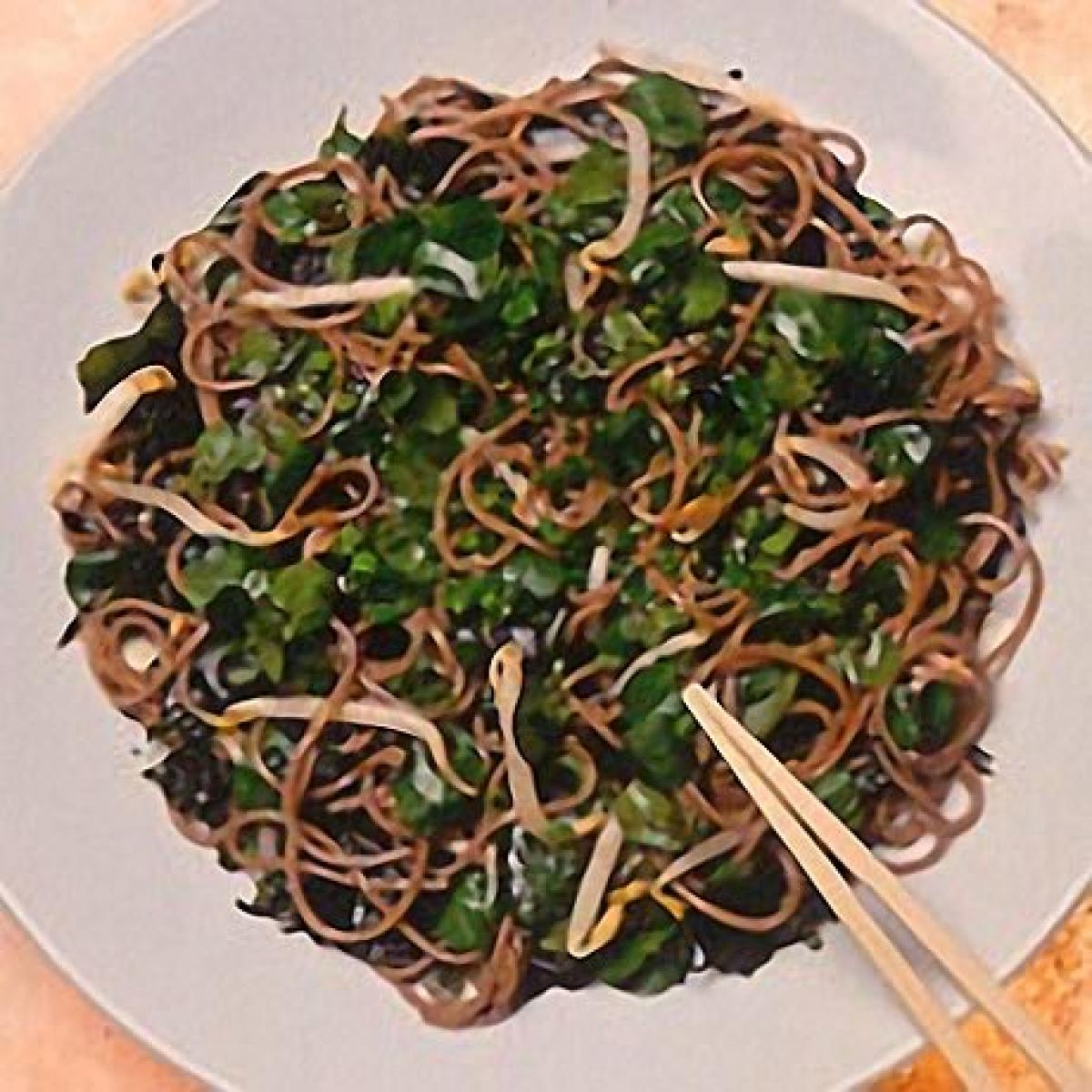 A picture of Delia's Soba Noodle Salad with Soy and Citrus Dressing recipe