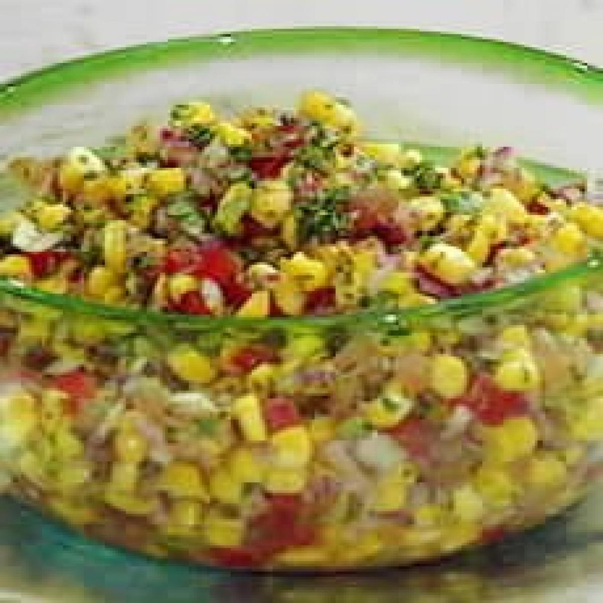 A picture of Delia's Toasted Sweetcorn Salsa recipe