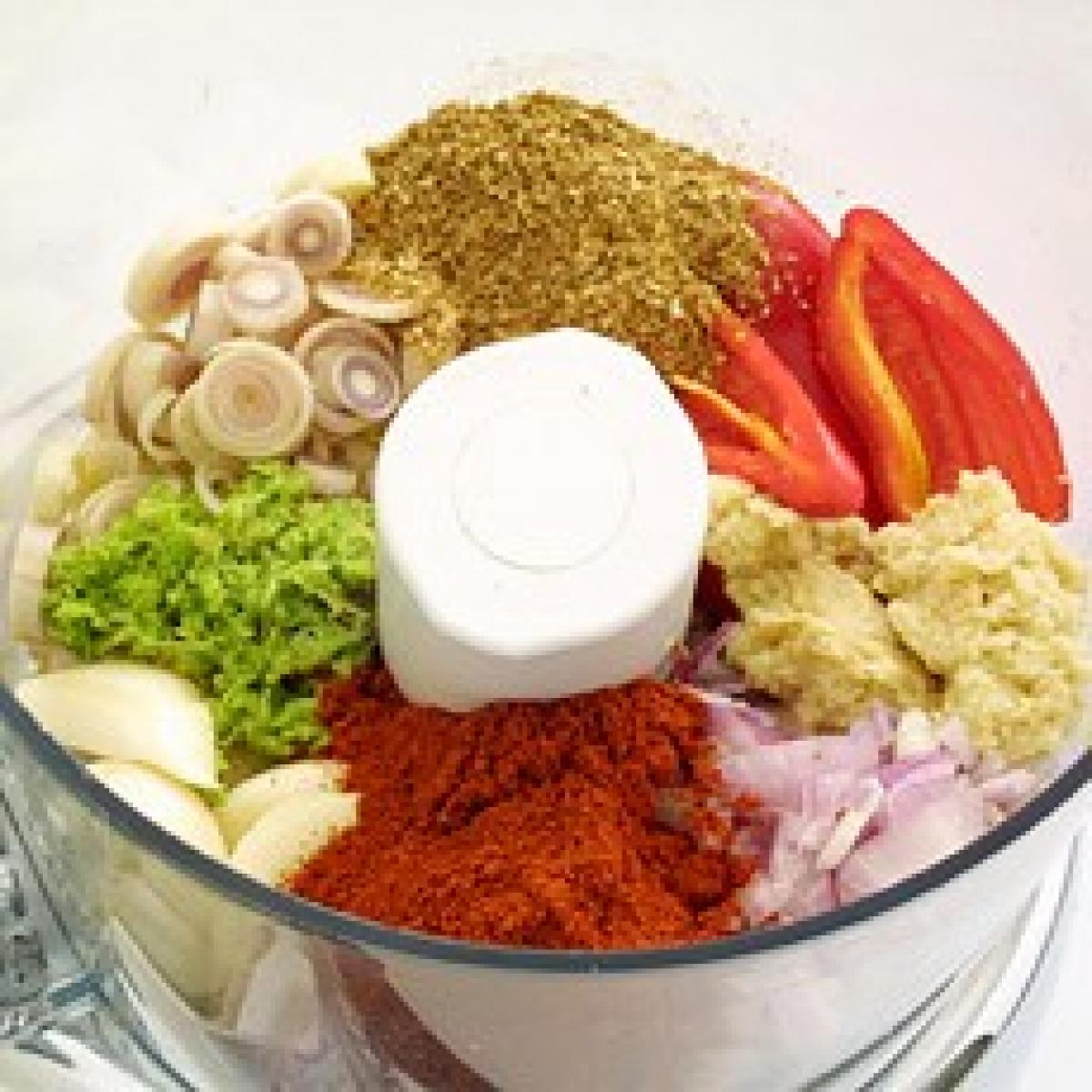 A picture of Delia's Thai Red Curry Paste recipe