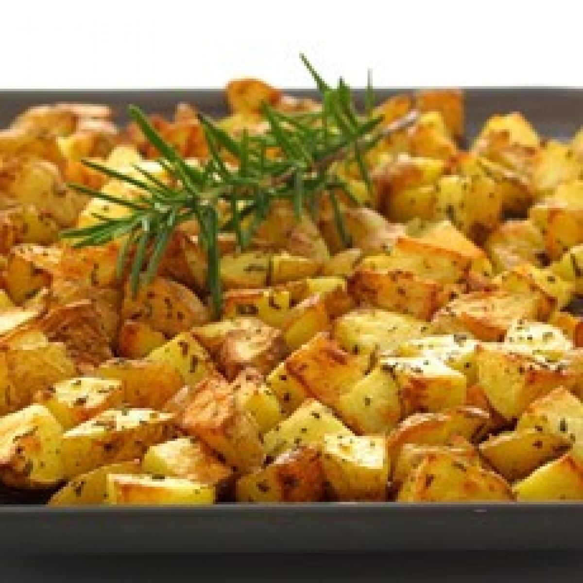 A picture of Delia's Roasted New Potatoes with Herbs and Garlic recipe