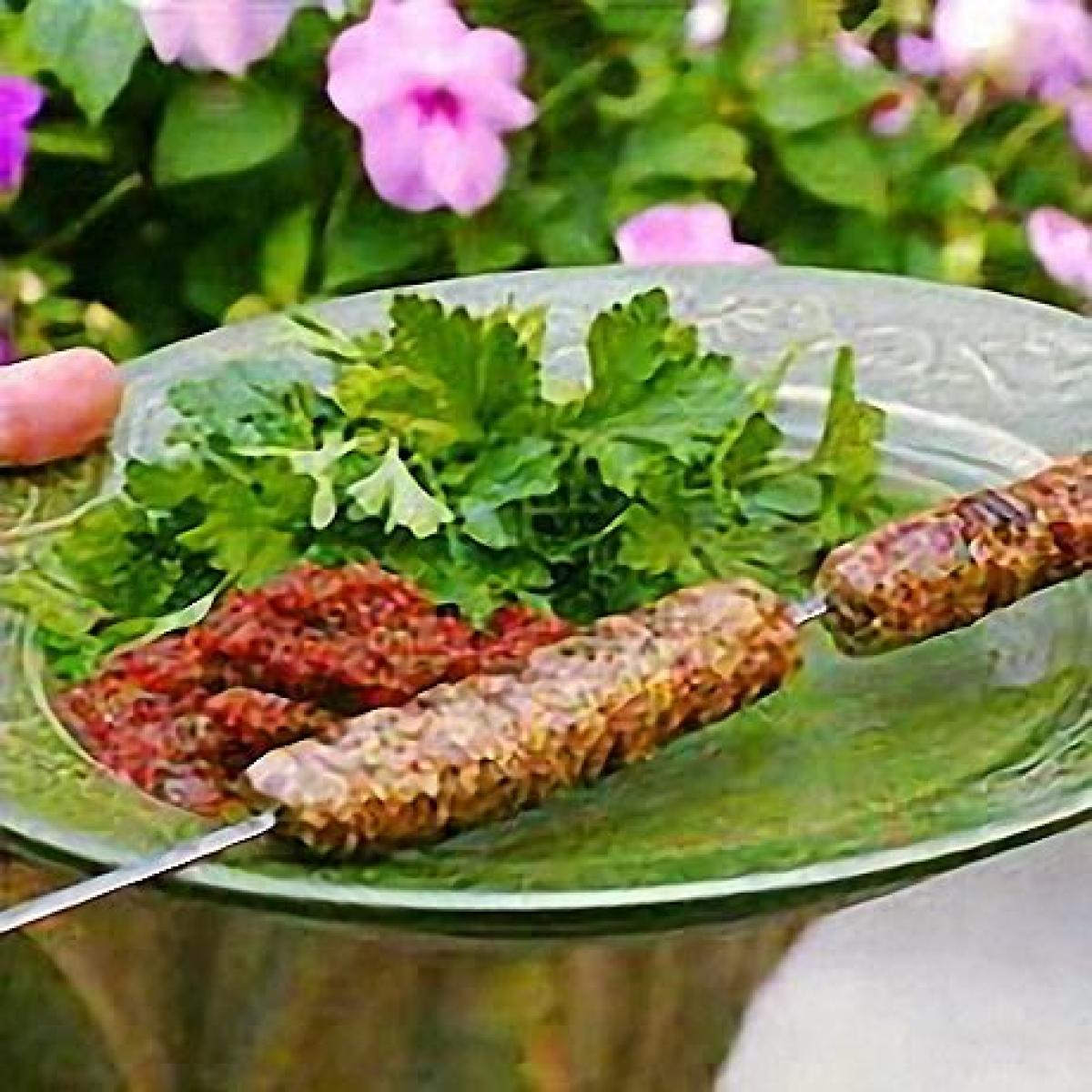A picture of Delia's Spiced Lamb and Cashew Kebabs recipe