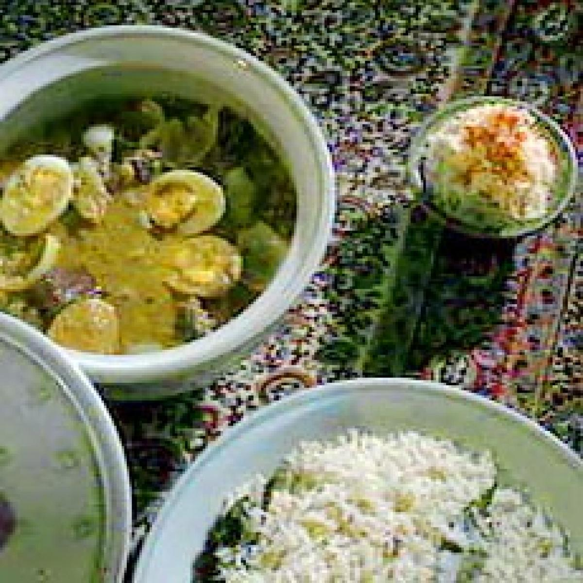 A picture of Delia's Sri Lankan Curry with Coconut Sambal recipe