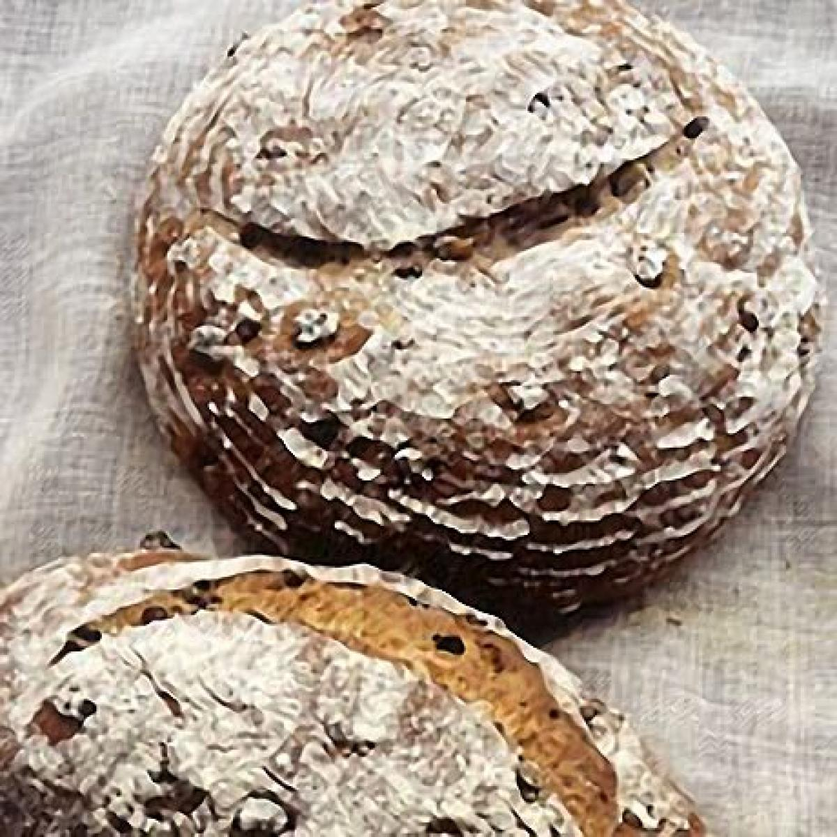 A picture of Delia's Walnut and Raisin Bread recipe
