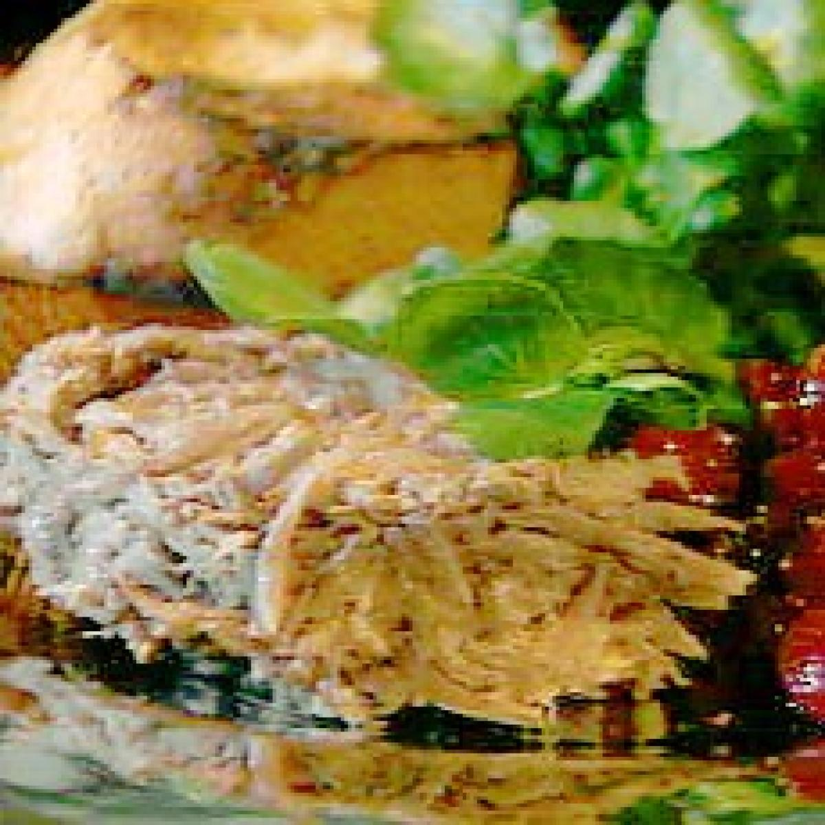 A picture of Delia's Rillettes of Duck with Confit of Cranberries recipe