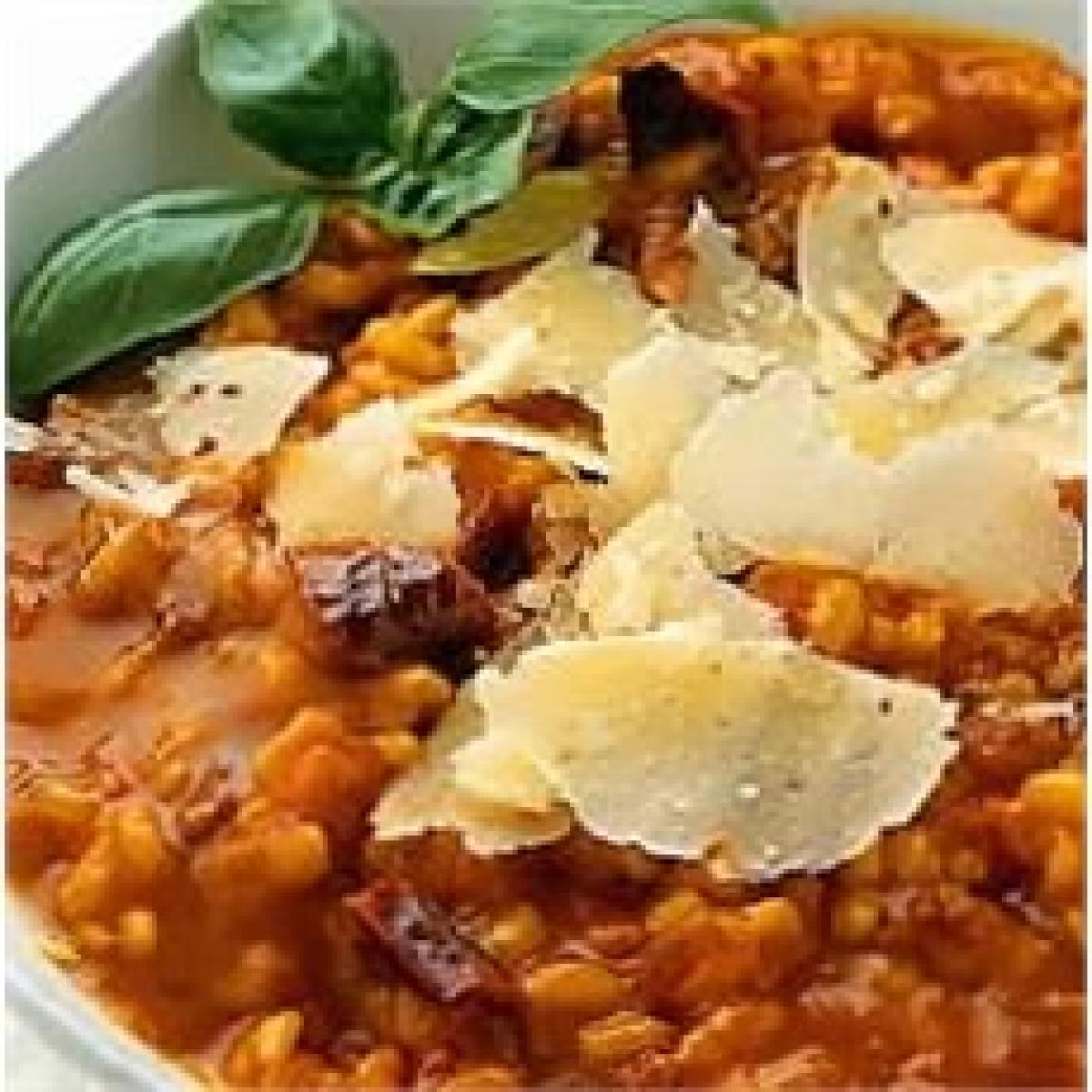 A picture of Delia's Roasted and Sun-dried Tomato Risotto recipe