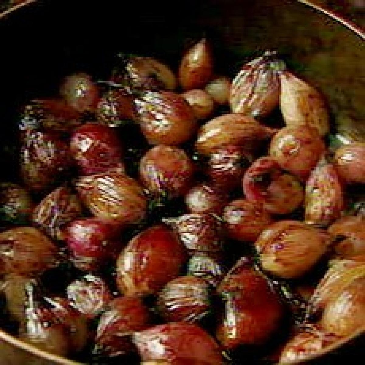 A picture of Delia's Compote of Glazed Shallots recipe