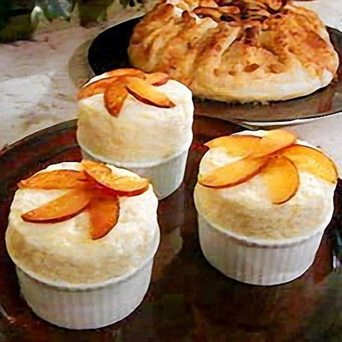A picture of Delia's Iced Apple Soufflé with Caramelised Apple recipe