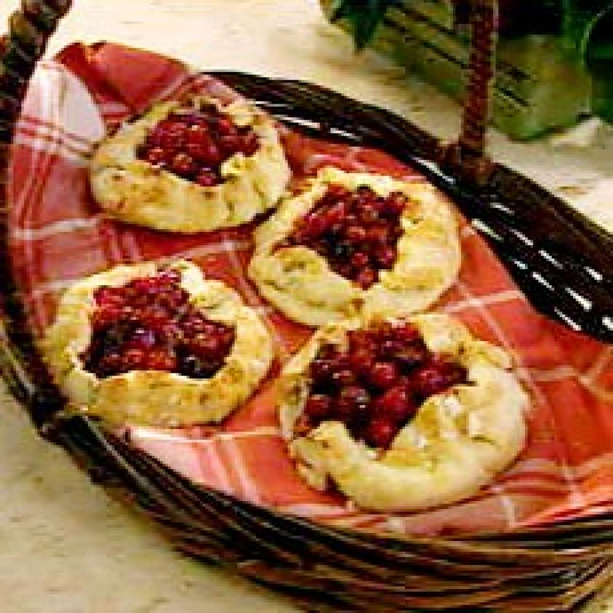 A picture of Delia's Cranberry and Orange One-Crust Pies recipe