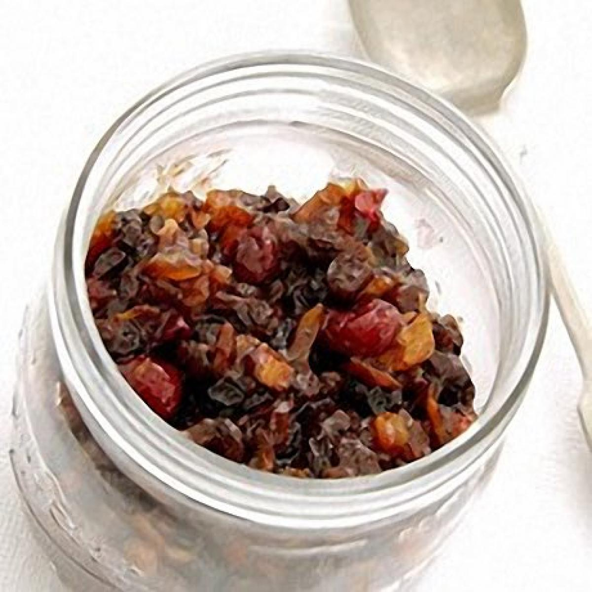 A picture of Delia's Home-made Christmas Mincemeat with Cranberries recipe