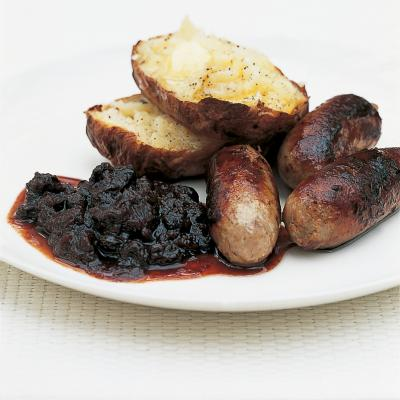 A picture of Delia's Spiced Damson Chutney recipe
