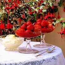 A picture of Delia's Strawberries in Raspberry Puree recipe