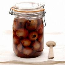 A picture of Delia's Pickled Shallots in Sherry Vinegar recipe