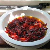 A picture of Delia's Di's Red Pepper Relish recipe