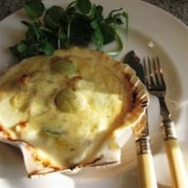 A picture of Delia's Scallops Veronique recipe