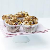 A picture of Delia's Damson (or Plum) and Cinnamon Muffins recipe