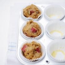 A picture of Delia's Rhubarb and Orange Muffins recipe