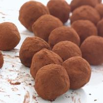 A picture of Delia's Irish Whiskey Truffles recipe