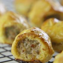 A picture of Delia's Etty's Sausage Rolls recipe