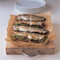 A picture of Delia's Herrings with Caper Stuffing recipe