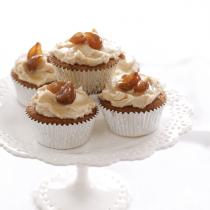 A picture of Delia's Chestnut Cupcakes recipe