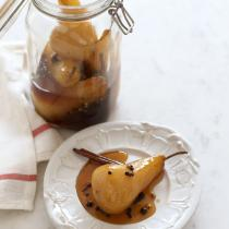 A picture of Delia's Spiced Pickled Pears recipe