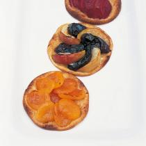 A picture of Delia's Apricot Galettes with Amaretto (Bottom image) recipe