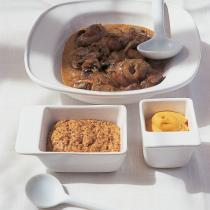 A picture of Delia's Lambs' Kidneys with Two Mustards recipe