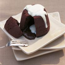 A picture of Delia's Melting Chocolate Puddings recipe