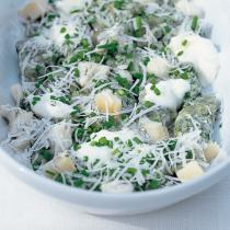 A picture of Delia's Spinach Gnocchi with Four Cheeses recipe