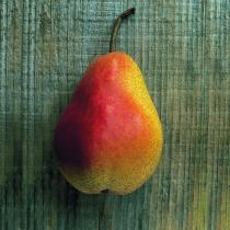 A picture of Delia's Poached Pear in Caramel Sauce recipe