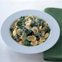 A picture of Delia's Orecchiette with Sprouting Broccoli, Pine Nuts and Sultanas recipe