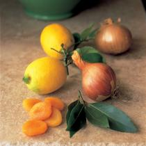 A picture of Delia's Spiced Pork Kebabs with Apricots recipe