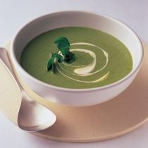 Soup watercress soup