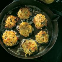 A picture of Delia's Rosti Crab Cakes recipe