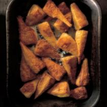 A picture of Delia's Parmesan-baked Parsnips recipe