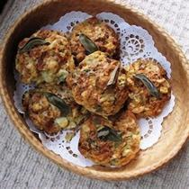 A picture of Delia's Roquefort and Potato Scones with Sage recipe