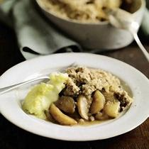 A picture of Delia's The Best Ever Apple Crumble recipe