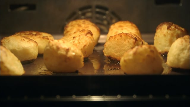 A picture of Delia's Perfect Roast Potatoes cookery school video
